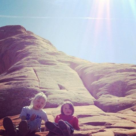 kids arches national park moab instagram