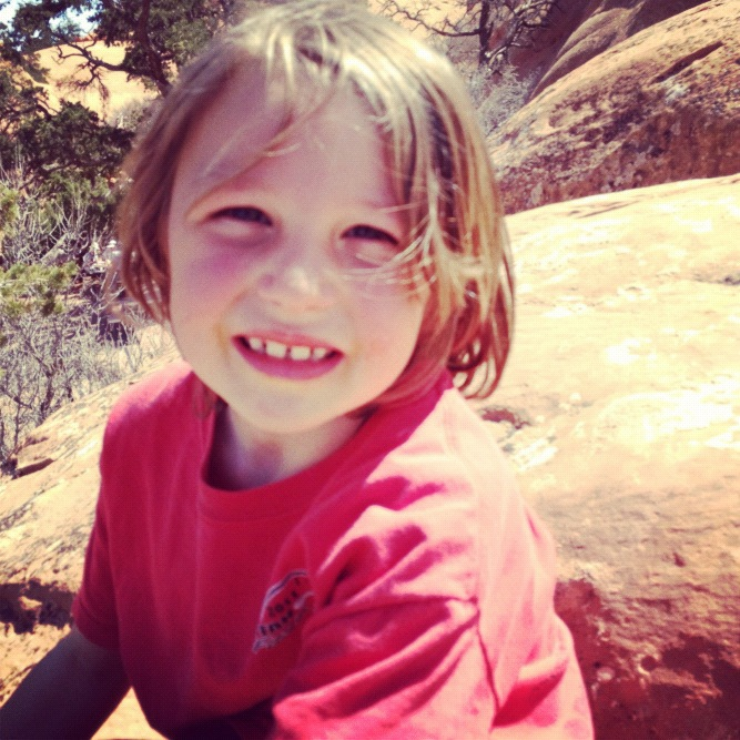 little boy arches national park moab instagram