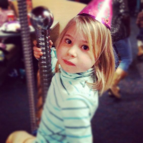 little girl carousel birthday party instagram