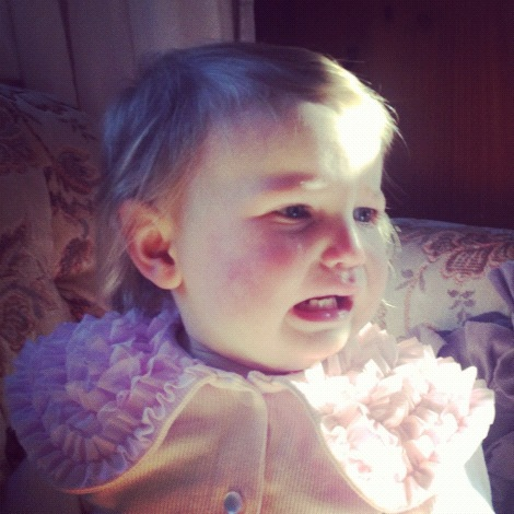 baby girl crying vindie baby instagram