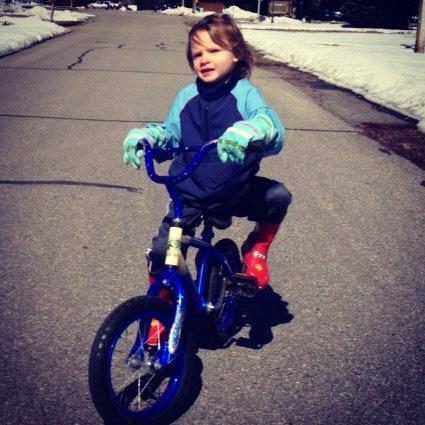 little boy bike instagram