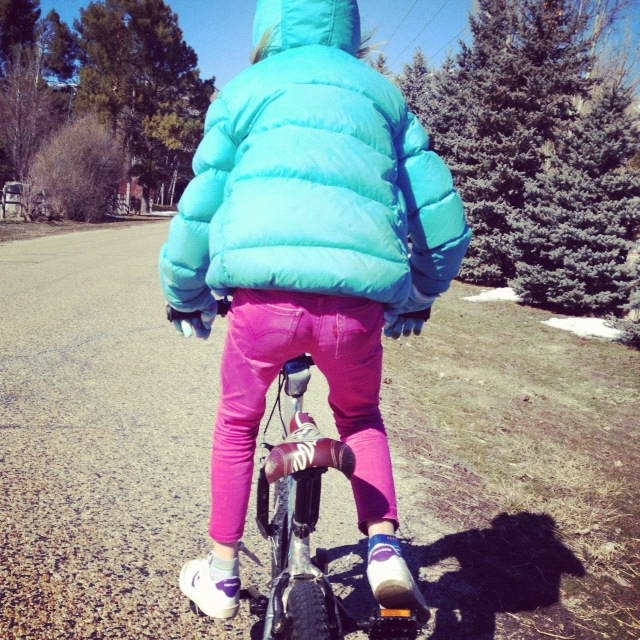 little girl bike instagram