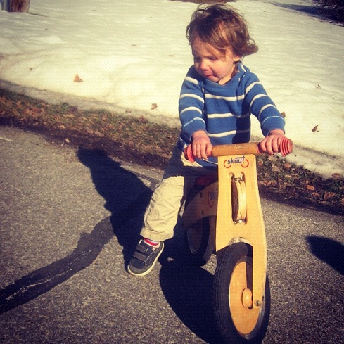 little boy balance bike instagram