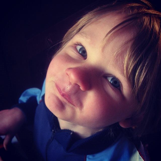 little boy smiling instagram