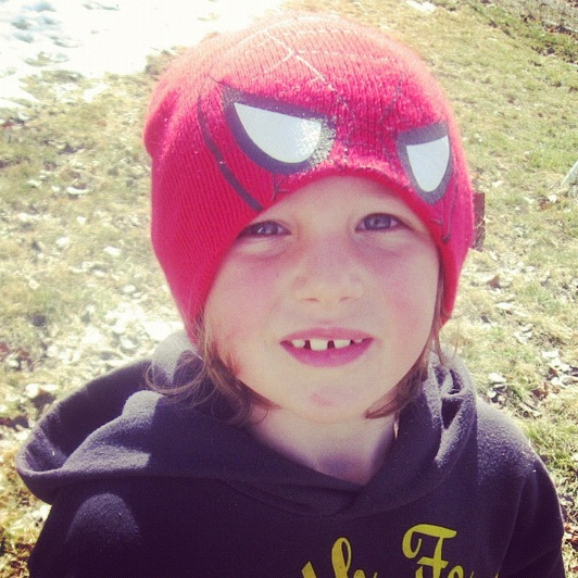 little boy spiderman beanie instagram