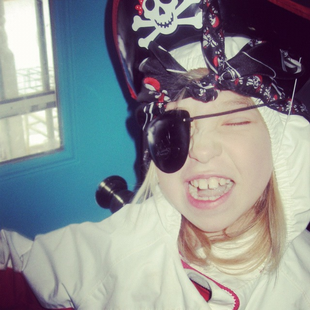 little girl pirate instagram