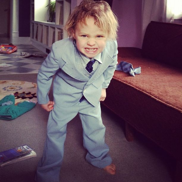 little boy suit tie instagram