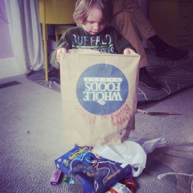 little boy birthday present instagram