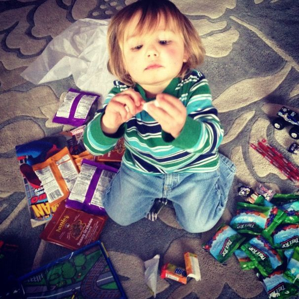 little boy treats instagram