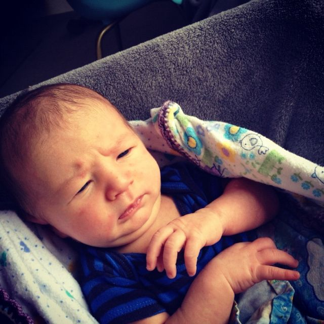 newborn boy instagram