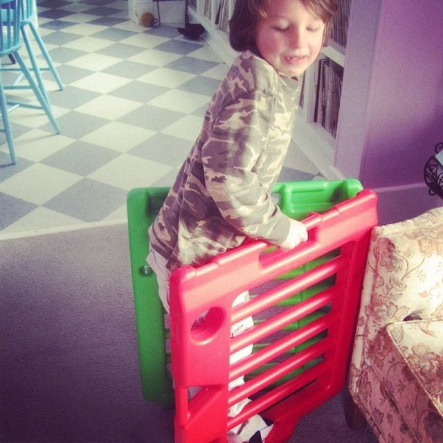 little boy baby gates stilts instagram