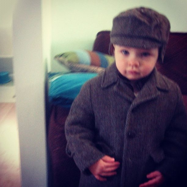 little boy tweed suit coat instagram