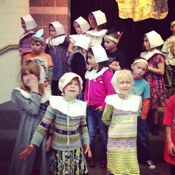 elementary school thanksgiving program pilgrims instagram