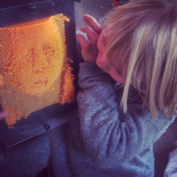 little girl molding toy instagram
