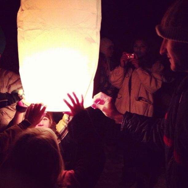 lighting paper lanterns instagram