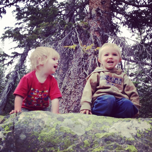 little kids camping instagram