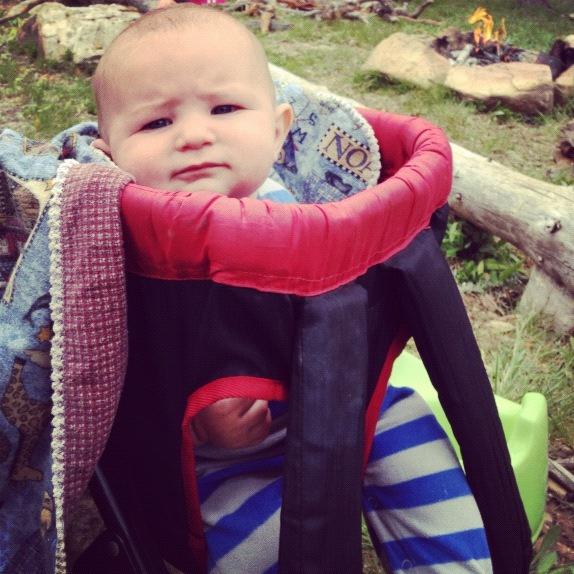 little kids camping instagram