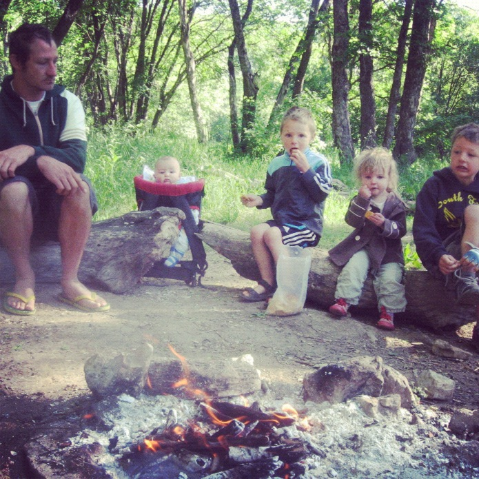 little boys and girls camping instagram
