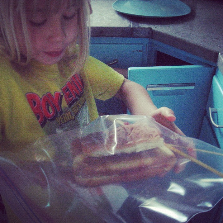 little girl tank sandwich instagram