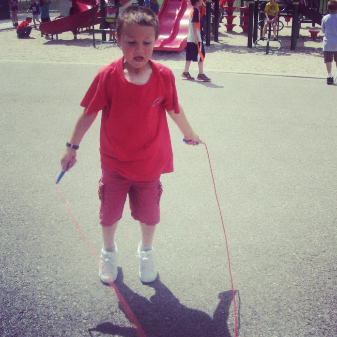 little boy jump rope instagram