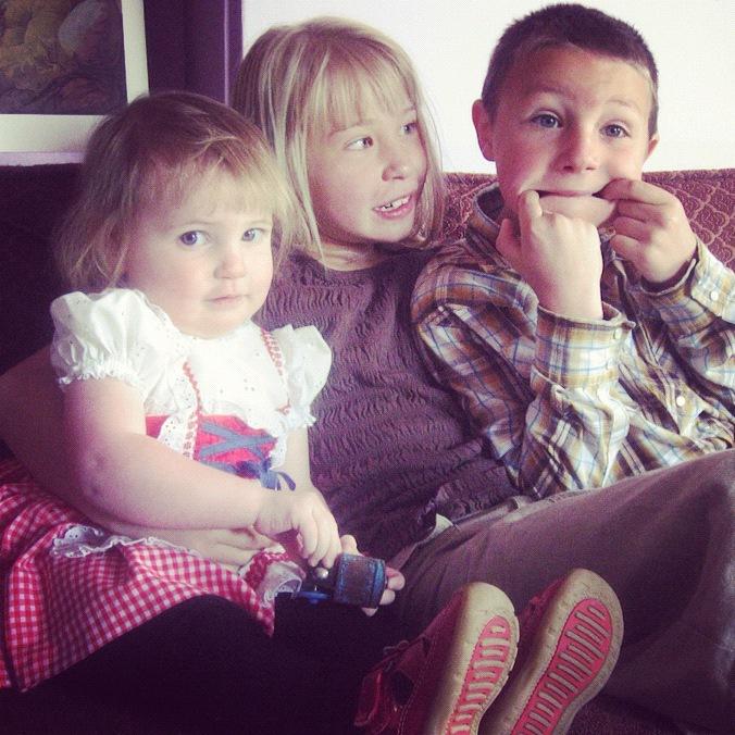 siblings on couch instagram
