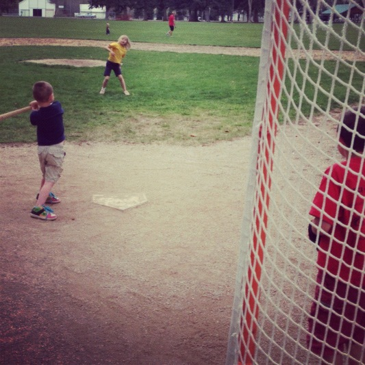 kids playing baseball instagram