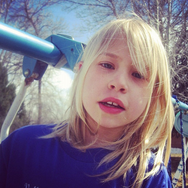 little girl blond hair instagram