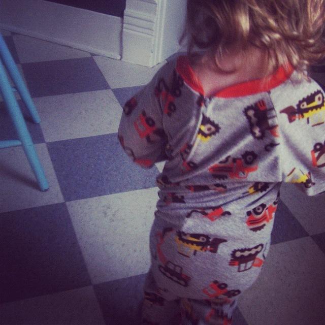 little boy twisted pajamas instagram