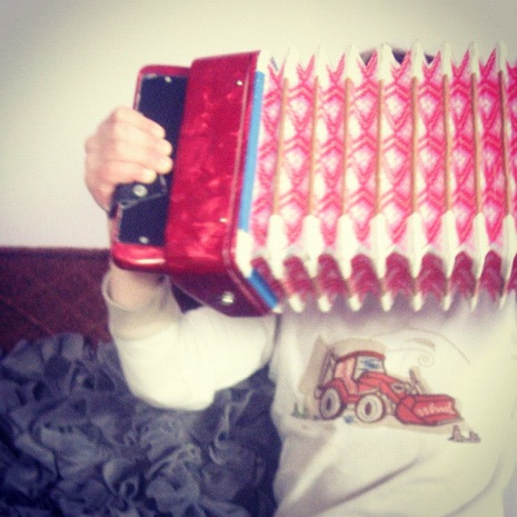 little boy accordion instagram