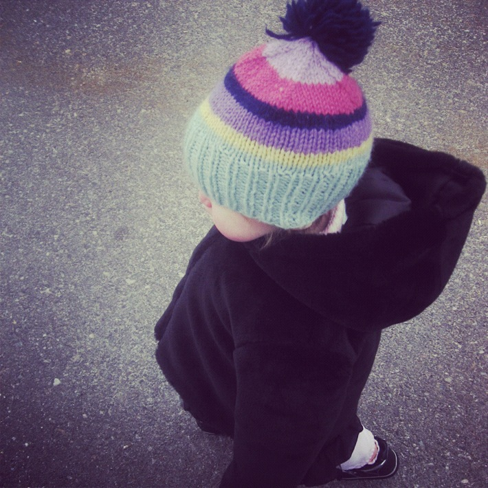 little kids winter walk instagram
