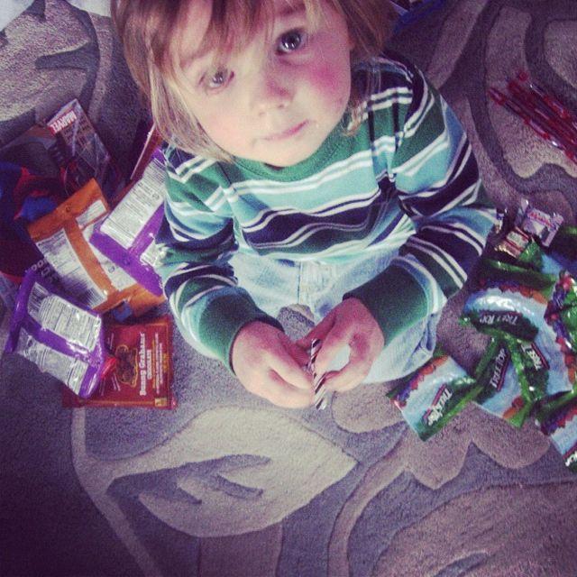 little boy treats instagram