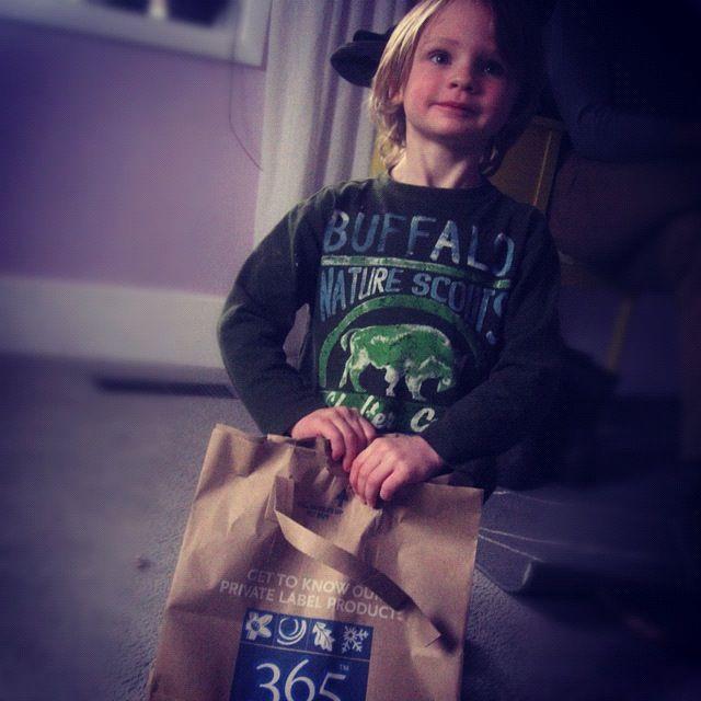 little boy birthday present instagram