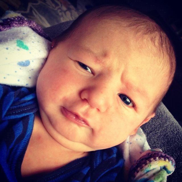 newborn boy instagram