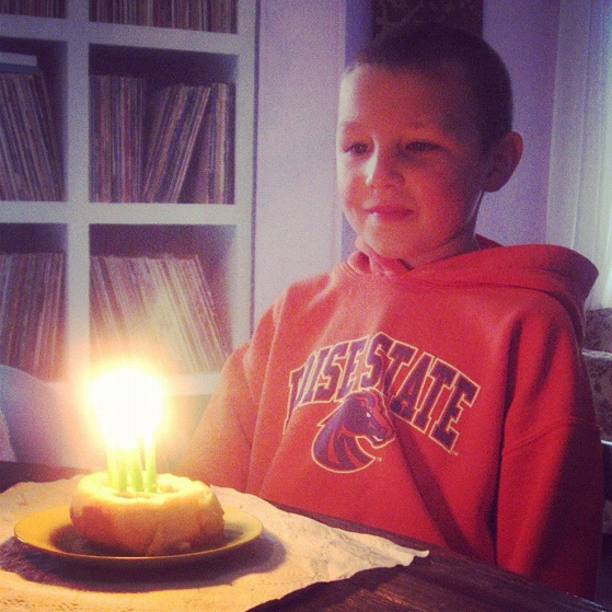 little boy birthday candles instagram