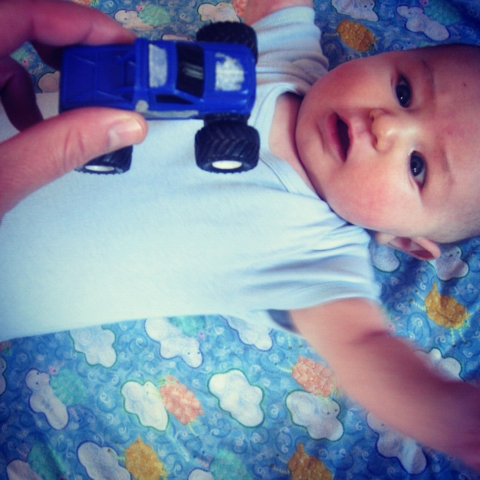 baby boy car instagram