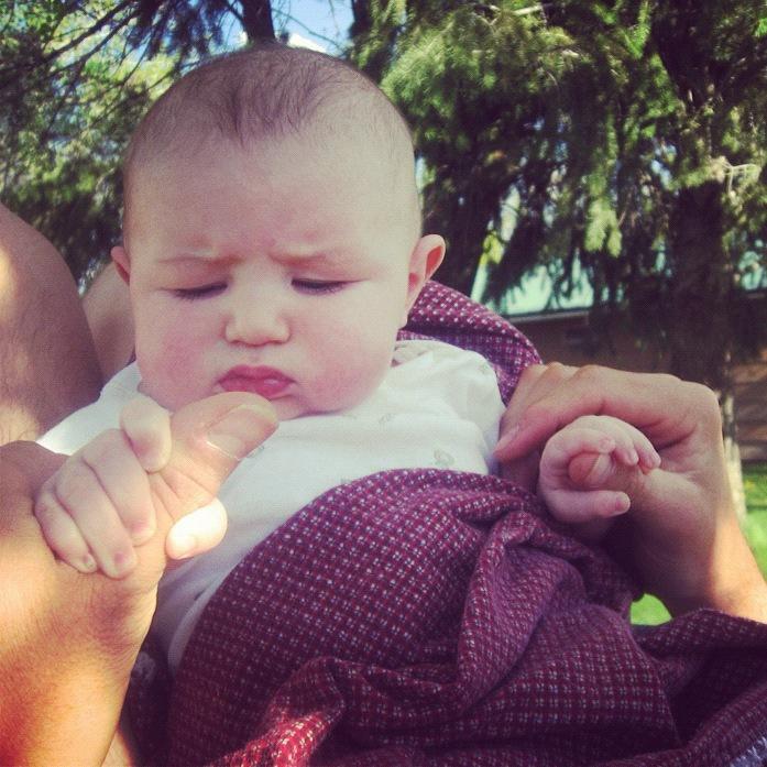 baby boy confused instagram