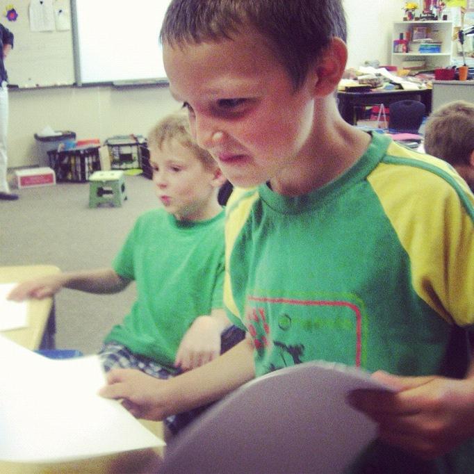 little boy teaching class instagram