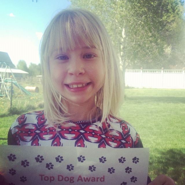 little girl award instagram