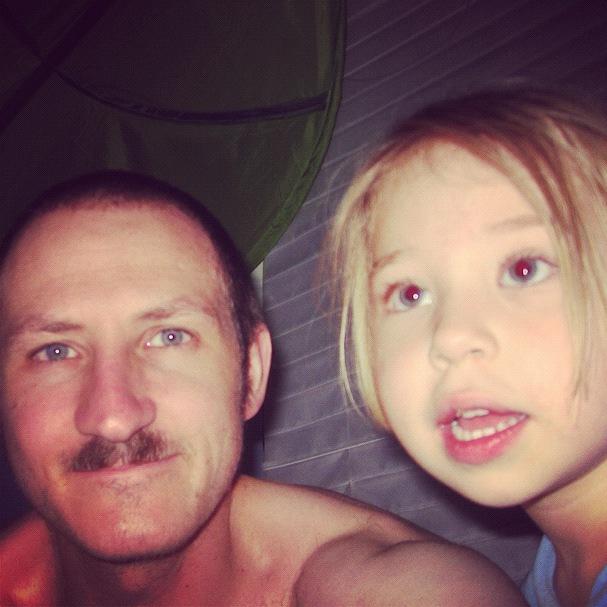 dad daughter haircuts instagram