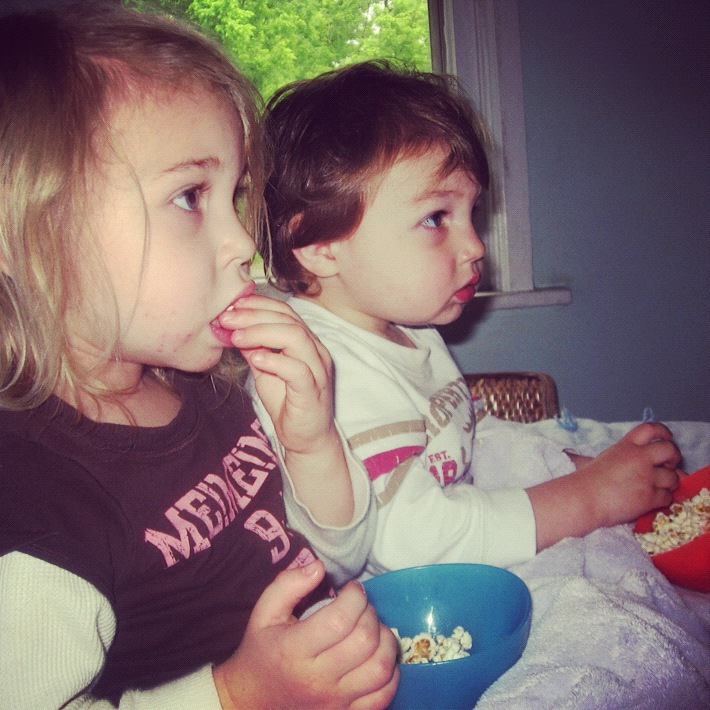 brother and sister movie popcorn instagram