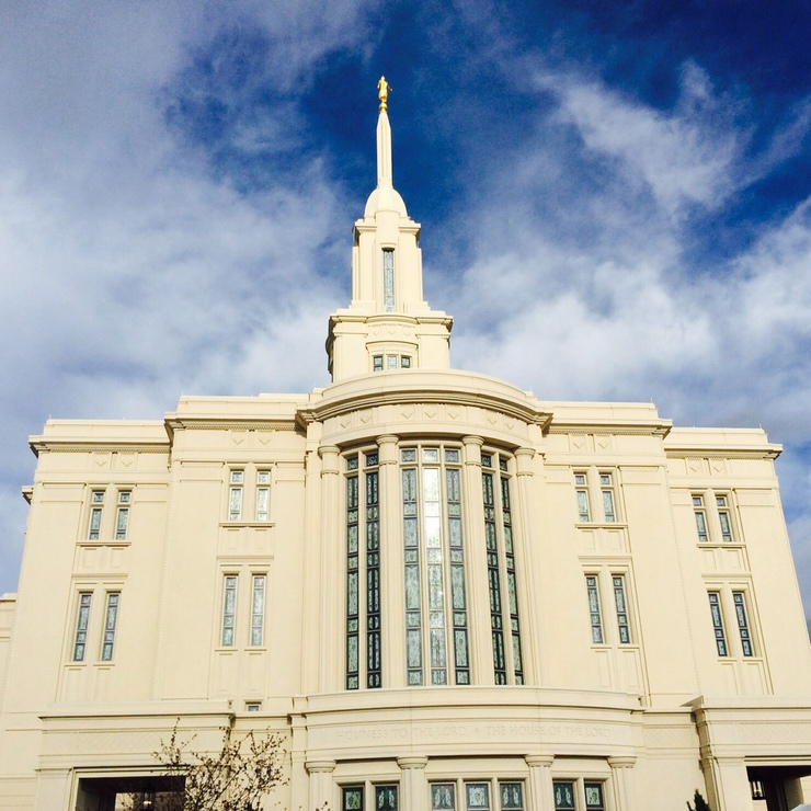 Probably The Biggest Event Was The Payson Utah Temple Open House. Our Stake  President Owns The Construction Company That Built The Temple, ...